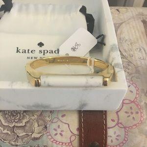 Kate spade bracelet with white marble design